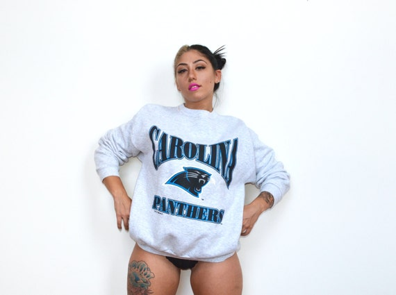 Vintage Carolina Panthers CrewNeck SweatShirt Sz L