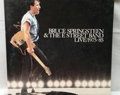 Bruce Springsteen and the E-Street Band Live Box Set - 1975-1985 - 5 LP Vinyl Set - 1986