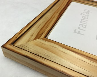 Distressed Rustic Natural Wood Picture Frame, Country Barn Wood, Wedding Frame, Any Size, 16x20, 11x14, 8x10, 5x7, 4x6, + Custom Sizes