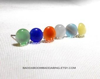 Simple Color Earrings