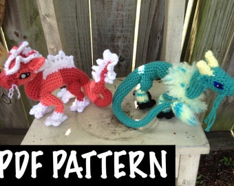 Chinese Dragon Crochet Pattern