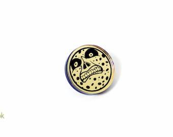Majora's Moon Pin - Laser Cut