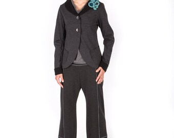 Art 01/15-16 -30% OFF Giacca Volpe.Charming, Made in Italy, Sartorial, Winter, Jacket,Unique, Graceful.