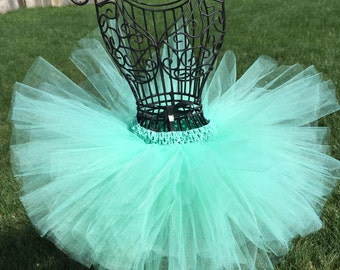 Mint Tutu, Mint Green Tutu, Baby Tutu, Infant Tutu, Toddler Tutu, Newborn Tutu, Holiday Tutu, Photo Prop, Birthday Tutu