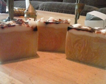 Pumpkin Caramel Latte Soap Bar
