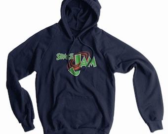 Space Jam American Apparel Pullover Hoodie