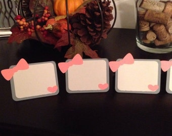 Girly Placecards