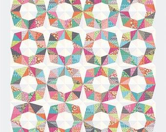 Octo quilt pattern by Zen Chic