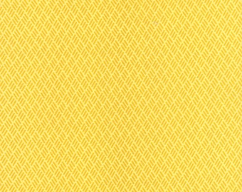 Yellow Hash Marks fabric from the Simply Colorful collection by V and Co for Moda Fabrics