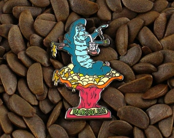 BHO Pins Alice In Wonderland Caterpillar Dab Dabbing Oil 420 710 Pin