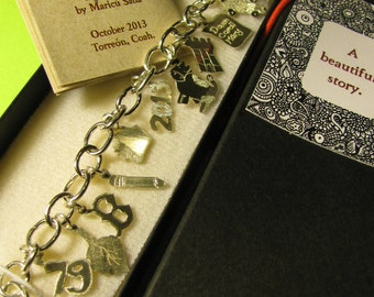 Charm bracelet: tell your story.