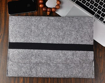 Christmas gift, MacBook pro15 sleeve, Macbook Pro Retina15 case, Macbook case, 15 inch laptop  bag, Felt laptop case, Macbook pro case,3A13