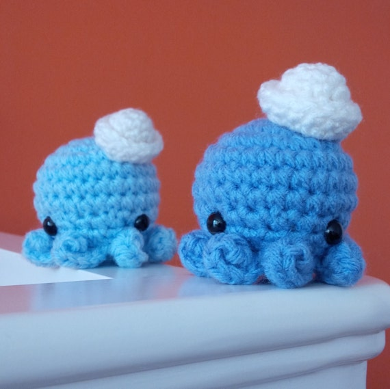 Mini Amigurumi Octopus : Crochet Mini Octopus Amigurumi Pattern