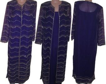 Long purple jacket  # 1326