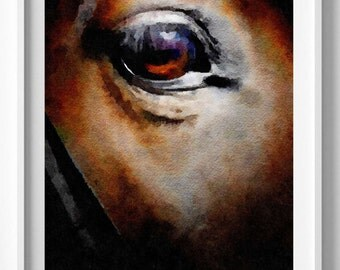 Horse Print,horse painting,Watercolor,Painting,Art,Wall decor,Home and living,Pic no 24