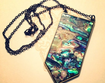 The Abalone Shield Necklace