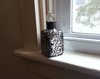 Silver Mosaic Bottle