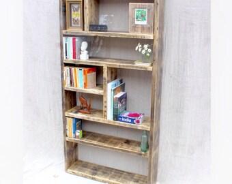 ERNST | Reclaimed Wood Bookcase - Handmade & Bespoke