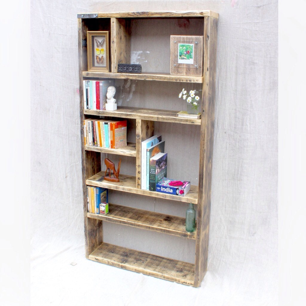 ERNST Reclaimed Wood Bookcase Handmade & Bespoke