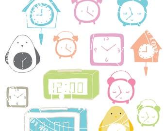 CLOCK CLIPART [digital alarm clock clip art]