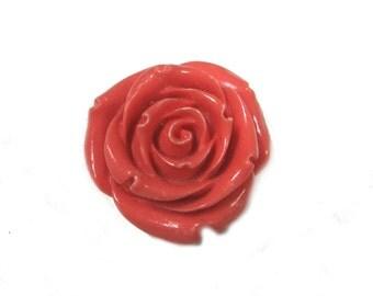 Resin Flower Pendant (2pc)