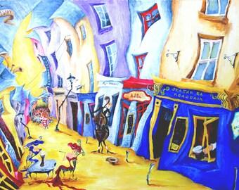 Irish, Ireland, Galway, streetscape, Naughton's Pub , Galway pub picture, Irish pub Picture, Image of Galway Street, Galway street art,