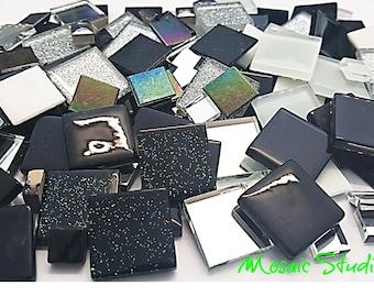 Mosaic Treasure Pots x 130pc - Black Beauty