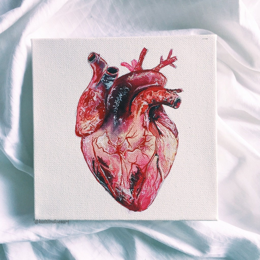Abstract Human Heart Painting   www.imgkid.com - The Image ...