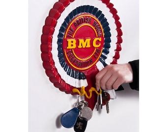 BMC Rosette aluminum hook and key rack