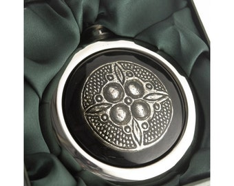 Celtic Whiskey Flask