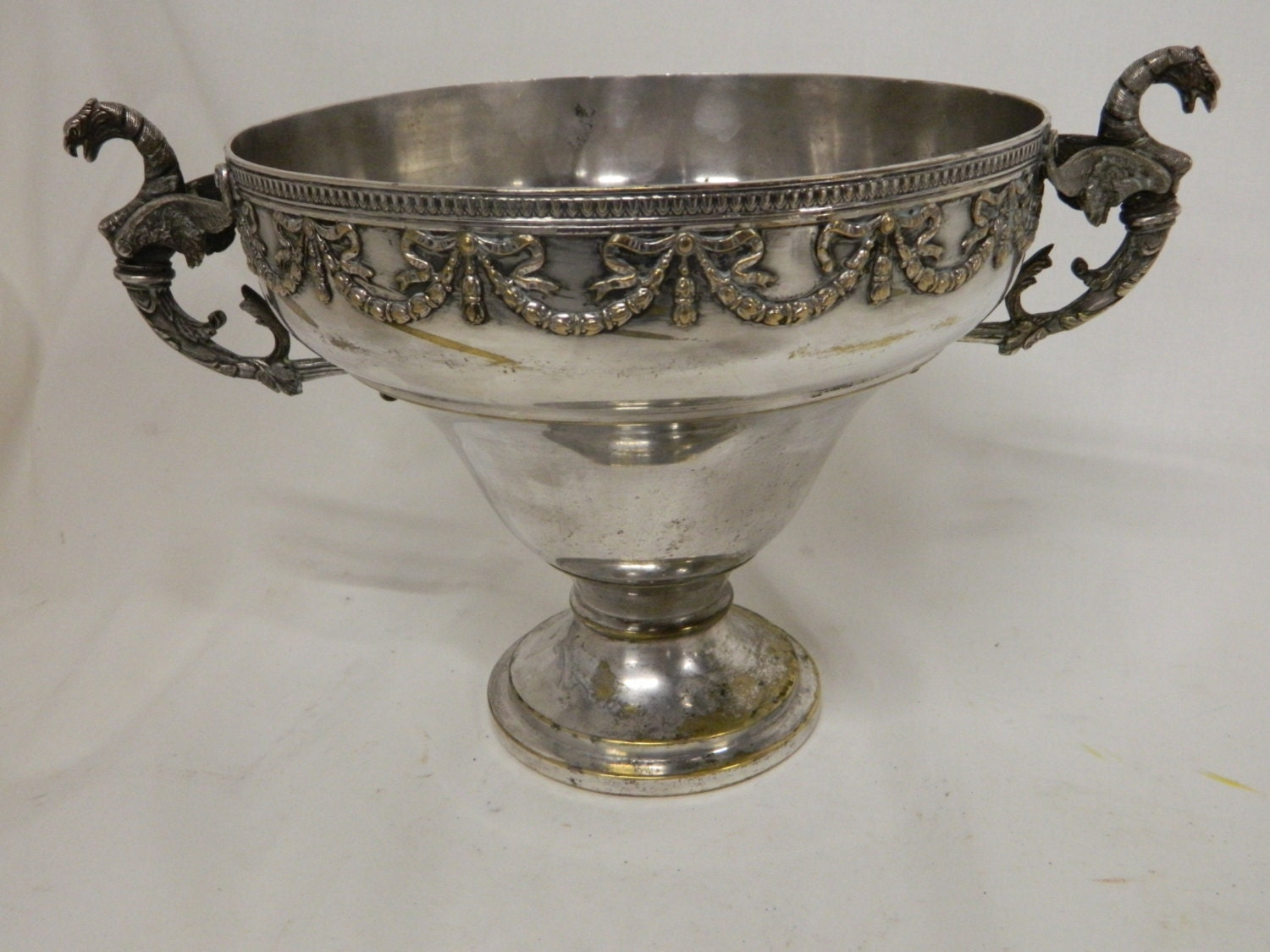 French napoleon iii jardiniere french silver by vforvintageinc for Jardiniere napoleon 3