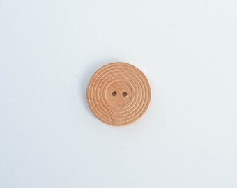 Large Wooden Buttons 30 mm - eco friendly natural buttons