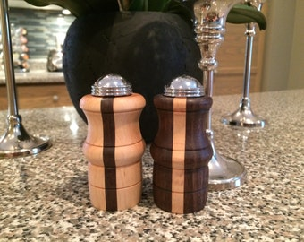 Dorset salt and pepper shakers