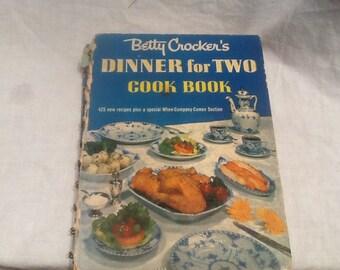 Betty Crocker Cookbook Dinner For Two