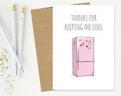 Fridge Greeting Card - Da...