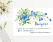 Painted Floral Reception ...