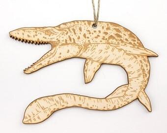 Mosasaurus Christmas Ornament