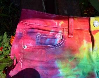 Handmade Tie-Dye Shorts