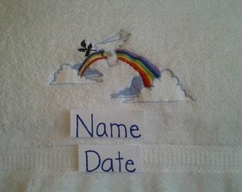 LDS Baptism Towel