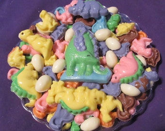 Jurassic Dinosaurs chocolates candy tray