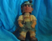 Bobble-Headed Hiking DOLL HELCO German