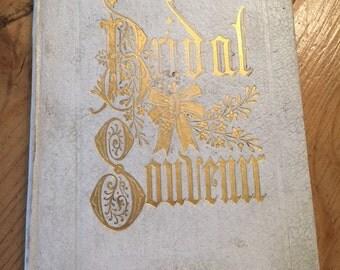 The Bridal Souvenir Book