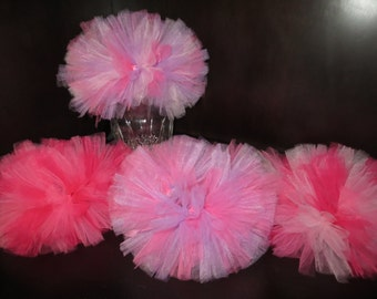 Pink dog tutu, pink and purple dog tutu
