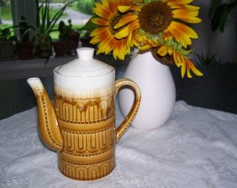 Ceramic Coffee Pot Ceramic Tea Pot Coffee Carafe Japan Vintage
