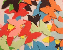 Large Mixed Multi Colored Butterflies Table Decoration, Event Confetti, Table Scatters, Baby Shower, Wedding