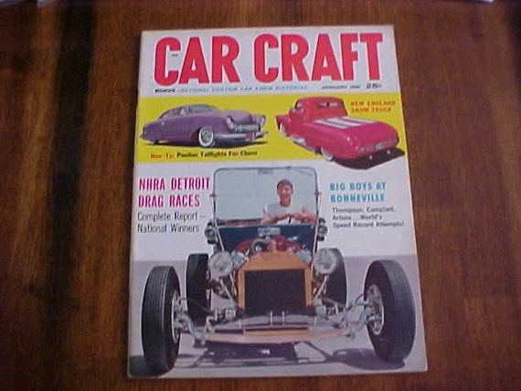Car craft magazine january 1961 issue for Car craft magazine back issues