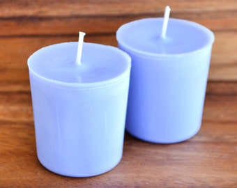 Lavender Votive Candle - Purple Scented Candles - Soy Candle - Lavender Soy Votive Candles - Home Decor Soy Votives - Soy Wax Pillar Candle