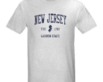 Vintage New Jersey T-Shirt All Sizes And Colors New