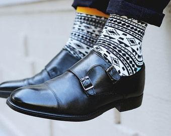 Designer colorful mens socks Chamanes . Free delivery!