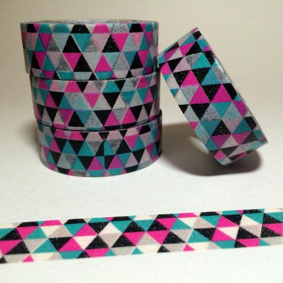 Pretty geometric washi tape design for Geometric washi tape designs